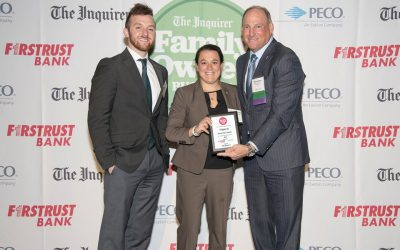 P. Agnes Receives Philadelphia Inquirer's 2019 Mid-Sized Family-Owned Business Award