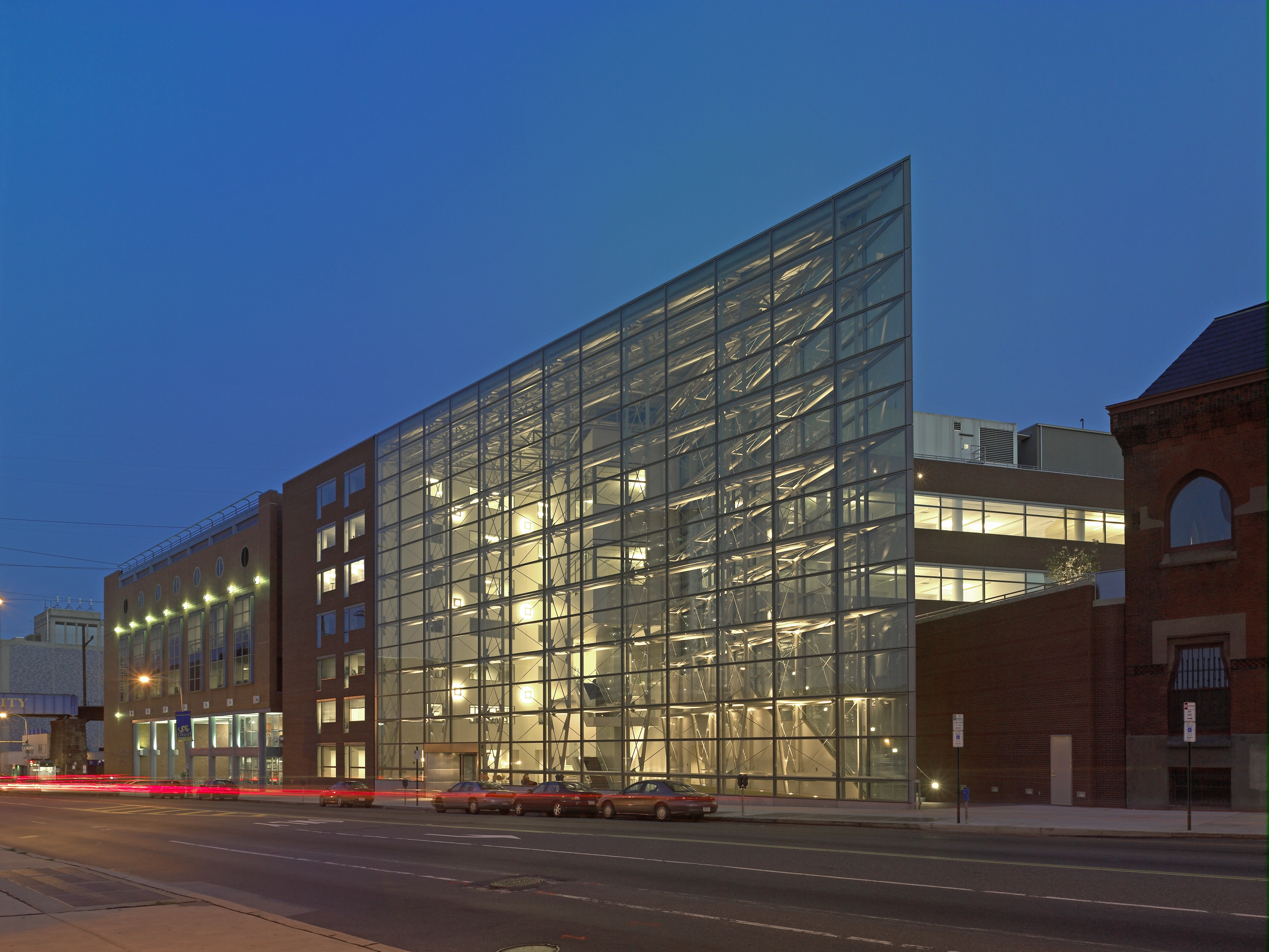 Drexel University Edmund Bossone Research Building