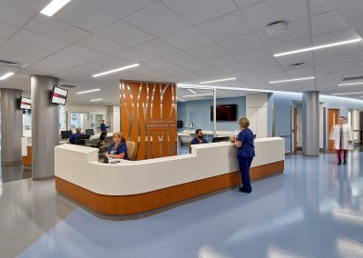 Robert Wood Johnson University Hospital – Ambulette, AMBI & Core Pavilion
