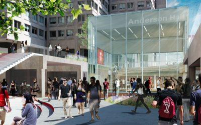 P. Agnes Awarded Temple University Anderson Hall Renovation Project