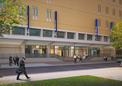 Thomas Jefferson University – Alumni Hall Projects
