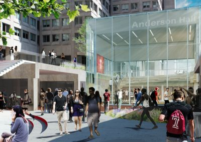 Temple University – Anderson Hall Renovation
