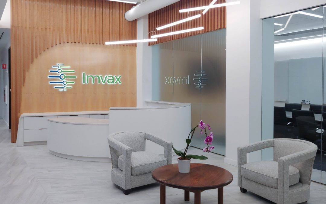 Construction Completed for Imvax, Inc Headquarters Project