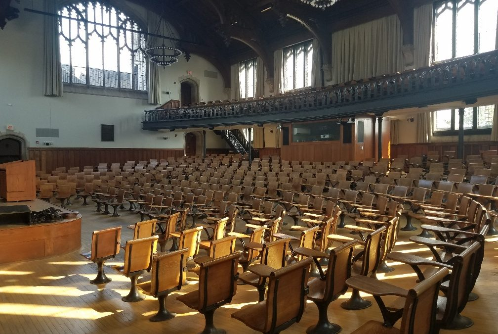 Construction Resumes on Princeton University McCosh 50 Renovations