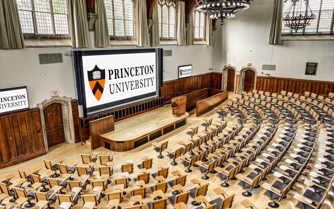 Renovations Completed on McCosh 50 Auditorium at Princeton University