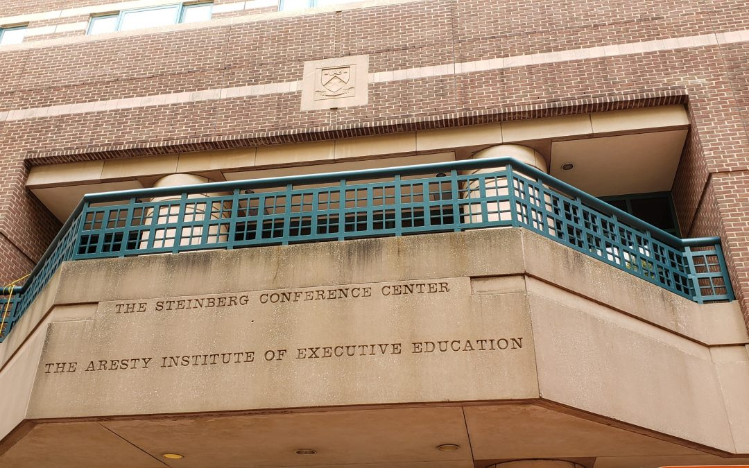 P. Agnes selected to perform mechanical/HVAC upgrades and façade repairs for the Wharton School of the University of Pennsylvania's Steinberg Conference Center