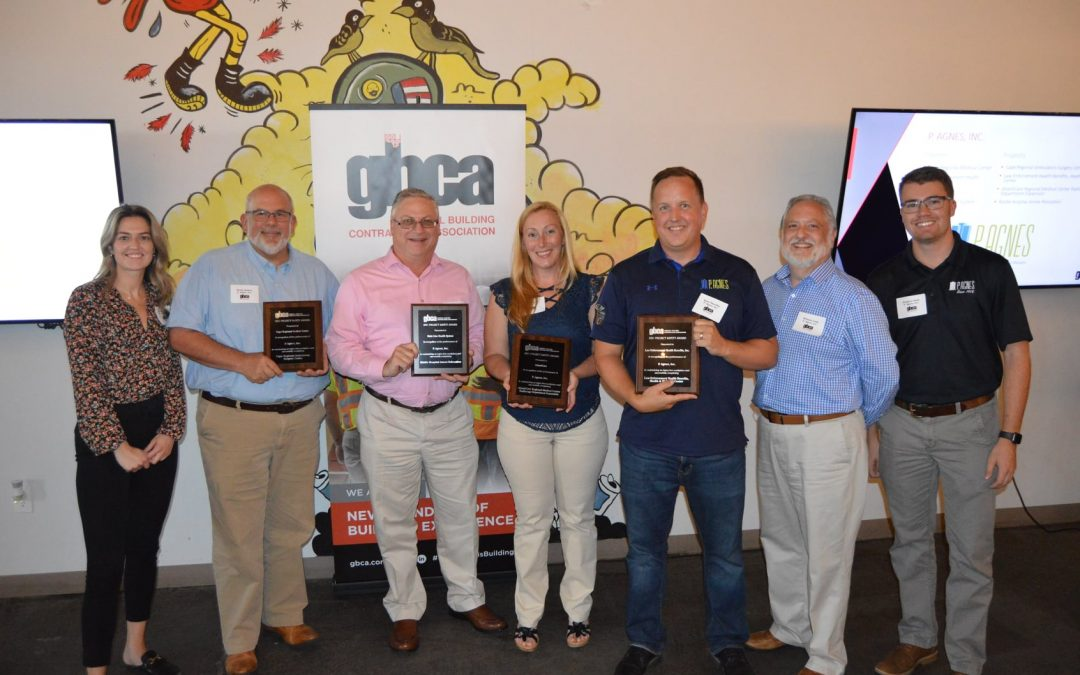 P. Agnes Wins Four GBCA Project Safety Awards