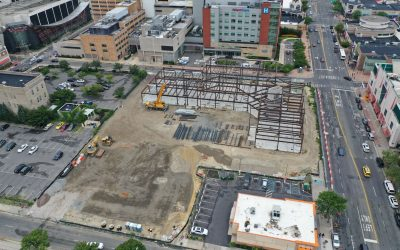 Construction progresses for AtlantiCare's Ohio Avenue Medical Arts Pavilion